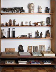 shelving/collection // home of ben schahn