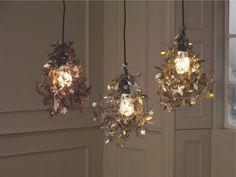 GARLAND METALLICS Metal Copper etched metal floral lampshade - HabitatUK. Tord Boontje