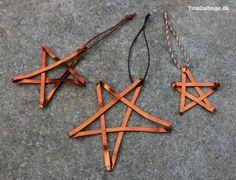 Fladt alutråd er blødt, bøjeligt og let at arbejde med. De her stjerner er lavet på samme måde,...