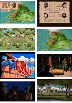 defender of the crown - print screens