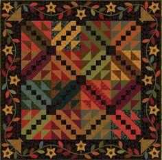 Evening Star Quilt by Kim Diehl - FREE pattern download