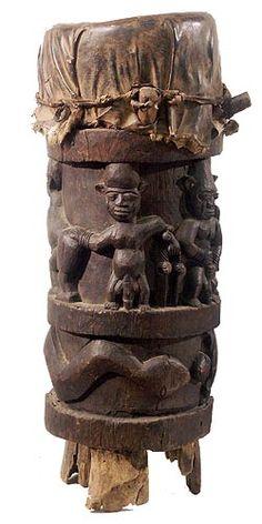 Yoruba Drum, Nigeria
