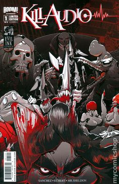 Kill Audio (2009 Boom Studios) 1C