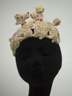 Bes-Ben Poodle hat! #millinery #judithm #hats