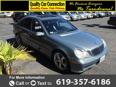 2004 *Mercedes-Benz *MBZ*  *C-Class* *C230* *Sport* *Sedan*  130k miles Call for Price 130137 miles 619-357-6186 Transmission: Automatic  #Mercedes-Benz #C-Class #used #cars #QualityCarConnection #LaMesa #CA #tapcars