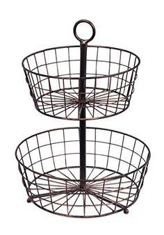 BirdRock Home 2 Tier Wire Fruit Basket | Round Metal Stan... https://www.amazon.com/dp/B01N9EBKKK/ref=cm_sw_r_pi_dp_x_CmUAybX24X8CN