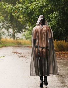 Capes & Ponchos, Rubber Raincoats, Rain Wear, Lesbian, Latex, Big, Awesome, Outdoor, Fashion