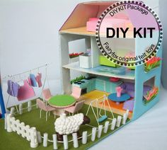 Dollhouse Inspiration - Felt