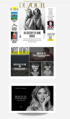Video Page, Diane Kruger, Latest Fashion, Fantasy, Cover, Life, Beauty, Style, Swag