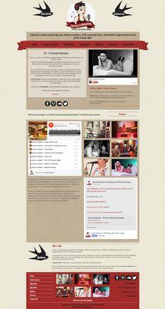 New website design for Becki Fishwick - Event and Wedding singer. Designed by kittyinpink.co.uk