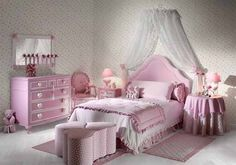 pink bedroom decoration for kids
