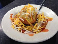 BBQ Bowl - by Smokey Que's, Chef Caleb Parker! A home town friend of mine! He's an amazing chef, I love his food!!