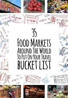 35 Food Markets Around The World To Put On Your Travel Bucket List - North Market, Columbus Ohio #4 on the list!