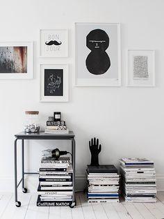 monochrome apartment.