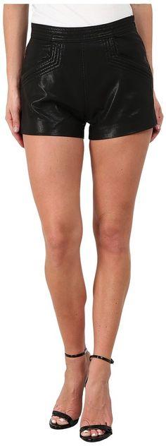 Blank NYC Vegan Leather Shorts