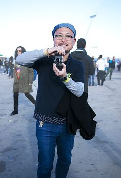 Street style and fashion trends - Lelook | Primavera Sound Festival 2013 - Denim Sailor Hat