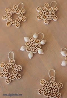 Winter Kids' Crafts: Paper Plate Snowman and Pasta Snowflakes