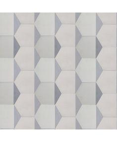 Hexagonal Triangles Cement Tiles By TERRAZZO TILES. Http://www.terrazzo