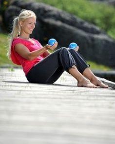 SISSEL® Pilates Toning Ball - Perfekt für das Training der Arme, Schultern und Oberkörper