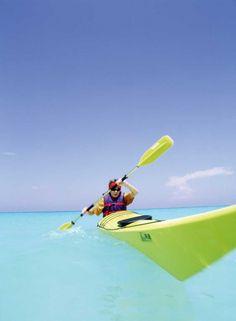 Kayaking in Puerto Morelos Mexico #active #outdoor #legero