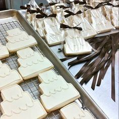 """If you've got the budget for it, gift a favor that supports one of your favorite organizations or charities with its proceeds. Abby says, """"We love the yumminess at Baking For Good, where proceeds support the charity of your choice. And guests get a sweet treat to remember the day. It's a win/win!"""""""
