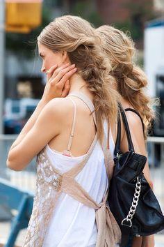 messy messy braids