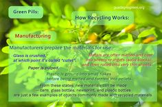 How Recycling Works: Stage 2 - Manufacturing