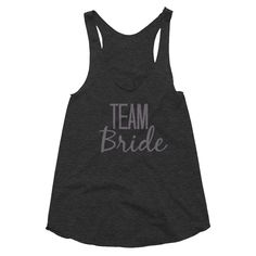 Team Bride - Bridal party - Women's racerback tank