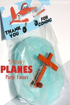 Disney Planes and Planes: Fire & Rescue Party Favor & Craft using FREE PRINTABLES- eventstocelebrate.net