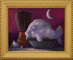 Buy THE SOAP FISH - (framed)., Acrylic painting by Carlo Salomoni on Artfinder. Discover thousands of other original paintings, prints, sculptures and photography from independent artists.