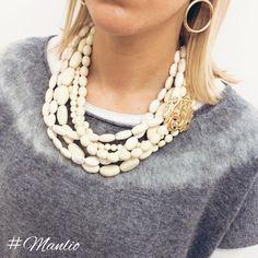 NEW! Collana €47 Per spedizioni WhatsApp 329.0010906 #manlioboutique #lookoftheday #fashion #love #beautiful #jewelry