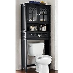 bathroom furniture this handsome space saver will fit over any standard toilet adding valuable space for storing towels and bathroom necessities