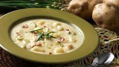 Kyslá zemiaková polievka s lesnými hubami | Recepty.sk