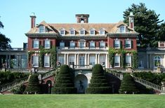 Old Westbury House on Long Island - Home of Jay Phipps, whose father Harry Phipps was partners with Andrew Carnegie during the days of Carnegie Steel.