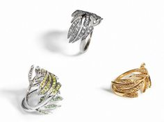 Leaf Ring Full Pave | Marc Alary