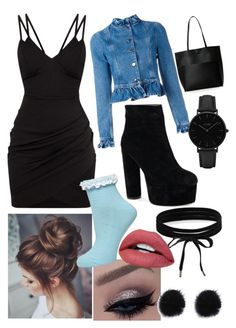 """""""Untitled #1332"""" by hannahgage1 on Polyvore featuring J.W. Anderson, Street Level, Boohoo, CLUSE and Dorothy Perkins"""