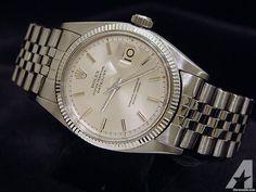 Rolex Stainless Steel/14k Datejust Bubbleback Watch