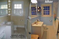 Small Bathroom Remodel | Mommy's Medley #smallbathroom #remodel #DIY #easyupdates
