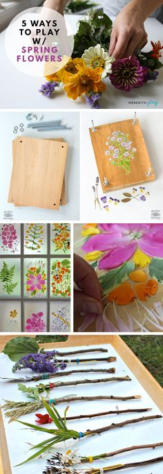 Arts and Crafts With Flowers You'll Love | Decorate with Fresh Flowers | Spring Flowers