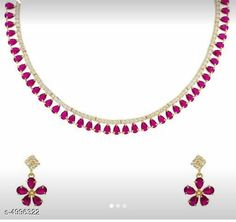Checkout this latest Jewellery Set Product Name: *Princess Colorful Jewellery Sets* Country of Origin: India Easy Returns Available In Case Of Any Issue   Catalog Rating: ★4.1 (3590)  Catalog Name: Princess Colorful Jewellery Sets CatalogID_733026 C77-SC1093 Code: 432-4996322-684