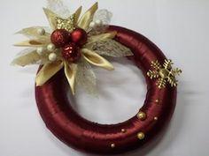 Vánoční věnec s přízdobou - návod na přípravu