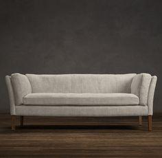 $1660 in brushed belgian cotton; $2000 in classic linen weave.   6' Sorensen Upholstered Sofa