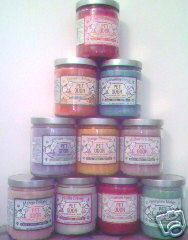 Candles with an enzyme built in to remove pet odors. vanilla and pumpkin spice are good