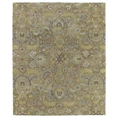 Christopher Kashan Gold Hand-tufted Rug (10'0 x 14'0) | Overstock.com Shopping - Great Deals on 7x9 - 10x14 Rugs