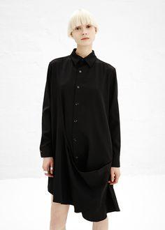 Y's by Yohji Yamamoto Shirt Dress