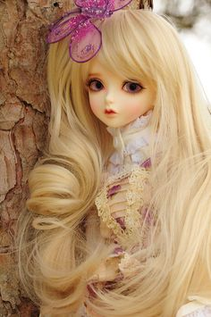 Peaks Woods Fairies of Color  Goldie 1/3 BJD doll by sylvia1sam on Flickr.