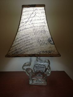 Junk Gypsy in my blood! Homemade lamp!