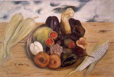 Frida Kahlo - Fruits of the Earth, 1938