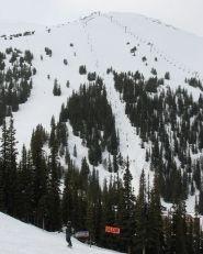 Marmot Basin Ski Area offers Alpine Skiing in Jasper National Park, Alberta, Canada