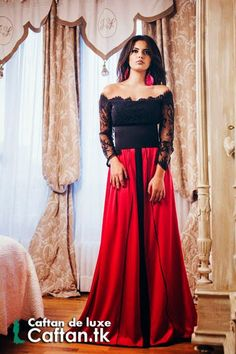 Aujourd'hui on porte une robe de soirée 2014 prestigieuse  en deux couleurs joyeuses qui s'adaptent à votre look moderne, avec un design élégant conçu spécialement pour les femmes qui veulent porter les meilleurs modèles des robes marocaines ou orientales...